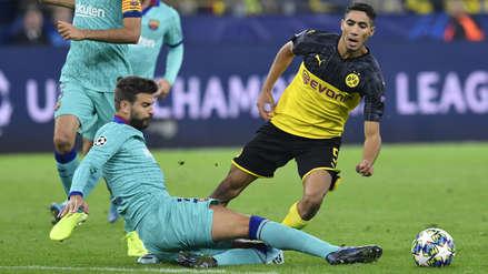 ¡No abrieron el marcador! Barcelona empató sin goles ante Borussia Dortmund en el estadio Signal Idural Park