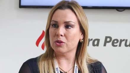 Poder Judicial declaró infundado pedido de comparecencia restringida contra Fiorella Molinelli