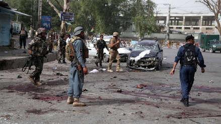 Al menos 24 muertos por ataque suicida con motocicleta bomba cerca de un mitin en Afganistán