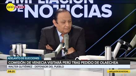 Defensoría pide no esperar informe de la Comisión de Venecia: