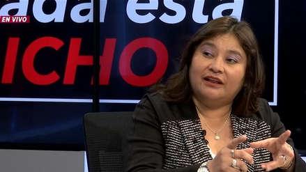 Janet Sánchez ve como un