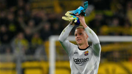 Ter Stegen, el héroe del Barcelona en Dortmund: