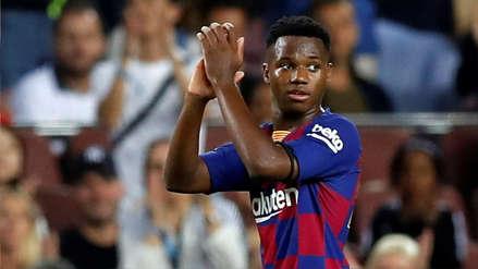 Renovación con el Barcelona y vínculo con la familia Messi: filtran el contrato de Ansu Fati