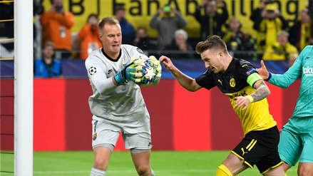 Ter Stegen 2-0 Reus: arquero del Barza le tapó un penal a delantero del Dortmund