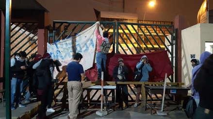 Estudiantes de la Universidad de San Marcos toman campus en protesta por bypass de avenida Venezuela