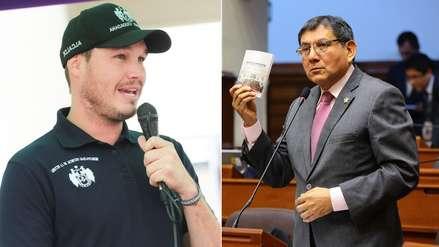 Congresista fujimorista Ángel Neyra presenta querella por difamación contra George Forsyth
