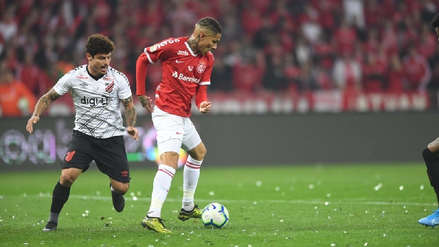 ¡No se pudo! Con Paolo Guerrero Internacional perdió 2-1 ante Atlético Paranaense la final de la Copa de Brasil