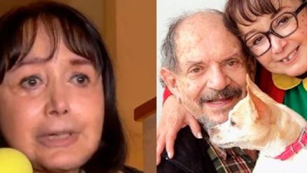 """El triste mensaje de 'La Chilindrina' tras la muerte de su esposo: """"Tengo que pensar para qué voy a vivir"""""""