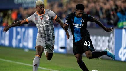 Galatasaray empató 0-0 con Brujas por el grupo A de la Champions League