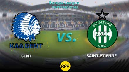 Con Miguel Trauco convocado: Saint Etienne vs. Gent EN VIVO desde Bélgica por el grupo I de la Europa League