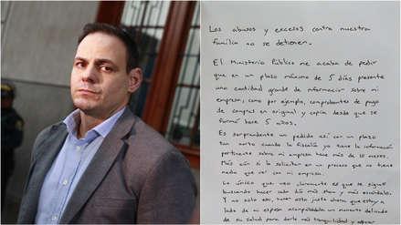 Mark Vito Villanella: Pedido de la Fiscalía busca hacer