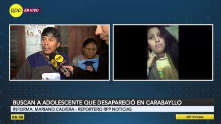 Padres buscan a su hija adolescente desaparecida hace cinco días en Carabayllo [VIDEO]