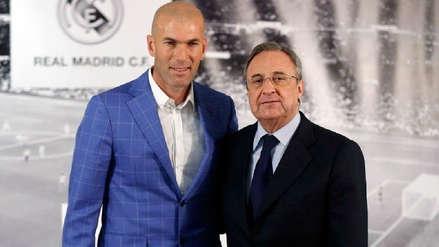 Lo tiene decidido: el exjugador del Real Madrid que quiere Florentino Pérez para reemplazar a Zinedine Zidane