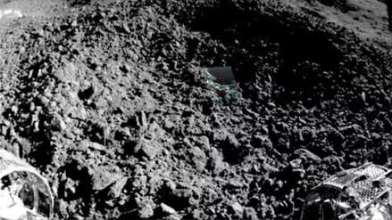 China difunde la primera imagen del misterioso material hallado en la cara oculta de la Luna