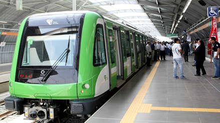 Metro de Lima reporta retrasos en el servicio por fallos en su sistema