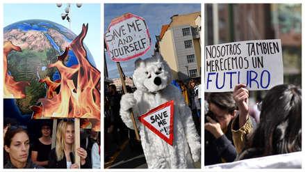 Miles de jóvenes de todo el mundo toman las calles en defensa del clima [fotos]