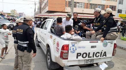 Chiclayo: Intervienen a ciudadanos venezolanos en condición ilegal