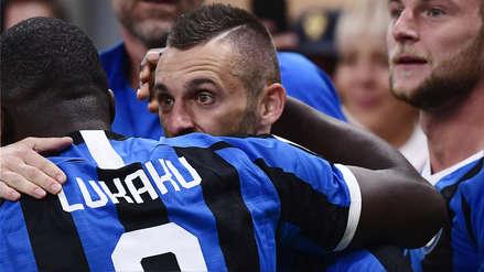 Con desvío incluido: el remate de Marcelo Brozovic que terminó en el primer gol del Inter de Milán