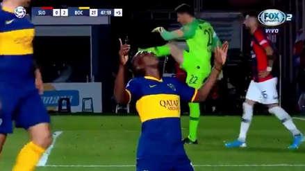 ¡Lo festeja Venezuela! Jan Hurtado anotó su primer gol con Boca Juniors y selló el triunfo ante San Lorenzo