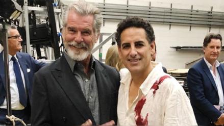 """Juan Diego Flores y su fotografía con Pierce Brosnan: """"¡Cuando James Bond y Werther se encuentran!"""""""