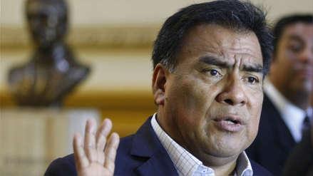 Javier Velásquez Quesquén aseguró que audio sobre elección del TC fue