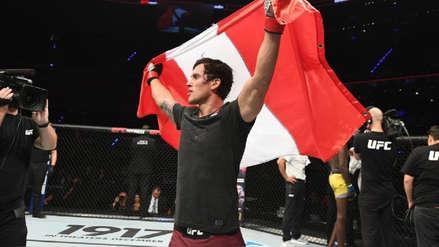 Los peruanos Claudio Puelles y Carlos Huachin tuvieron suertes distintas en el UFC Fight Night 159