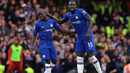 ¡Lo hizo todo solo! N'Golo Kanté anotó el descuento del Chelsea ante Liverpool con semejante golazo