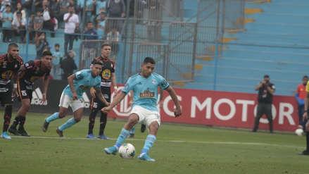 A la segunda fue la vencida: Cristian Palacios anotó de penal el 1-0 para Sporting Cristal ante Ayacucho
