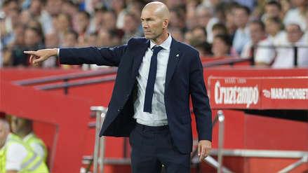 Zinedine Zidane destacó el rendimiento ante Sevilla: