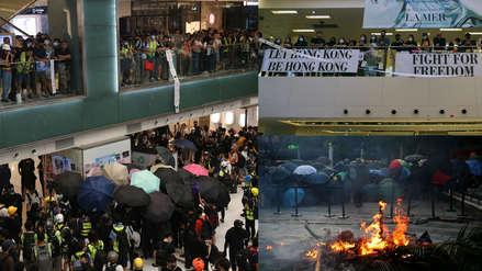 Hong Kong: Manifestantes toman varios centros comerciales vinculados a China