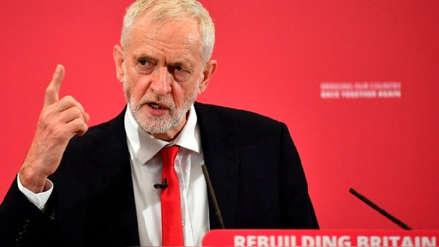 El Laborismo británico promete convocar un segundo referéndum sobre el Brexit si gana las elecciones
