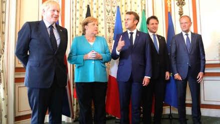 Francia, Alemania y Reino Unido acusan a Irán de ser