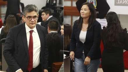 Fiscal Pérez dice que peligro de obstaculización en caso Keiko Fujimori
