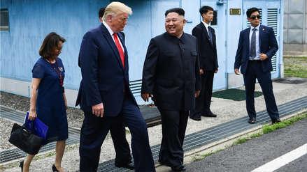 Donald Trump apunta a un posible encuentro con Kim Jong-un antes de fin de año