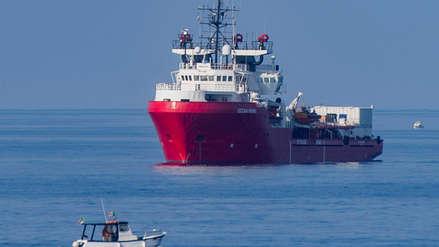 Italia autorizó el desembarco de 182 migrantes que fueron rescatados en el Mediterráneo
