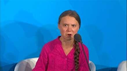Greta Thunberg ante la ONU: