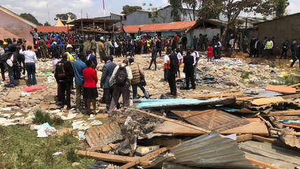Kenia: Siete niños mueren y 57 quedan heridos al derrumbarse dos aulas de un colegio