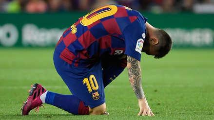 ¡Se encienden las alarmas! Lionel Messi dejó el partido entre Barcelona y Villarreal por un problema en el muslo