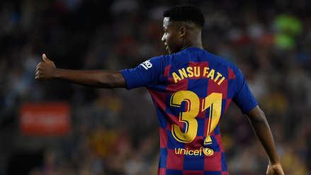 ¡Soberbio remate! Ansu Fati casi anotó el tercero para Barcelona en el partido ante Villarreal