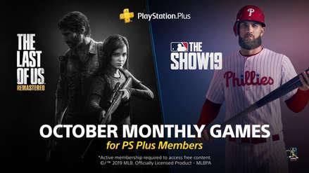 The Last of Us Remastered y MLB The Show 19 son los videojuegos gratuitos de PS Plus en octubre