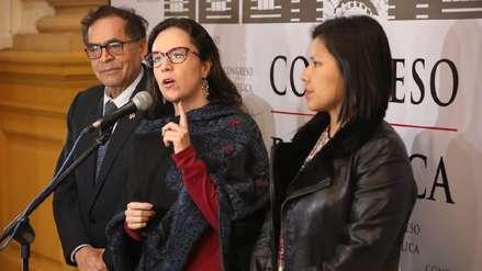 Nuevo Perú pide que predictamen que recomienda archivar adelanto de elecciones se debata en el Pleno