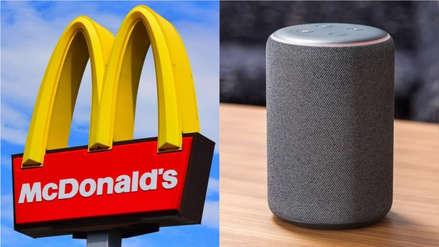¡Increíble! McDonalds contrata nuevos empleados usando Amazon Alexa y Google Assistant