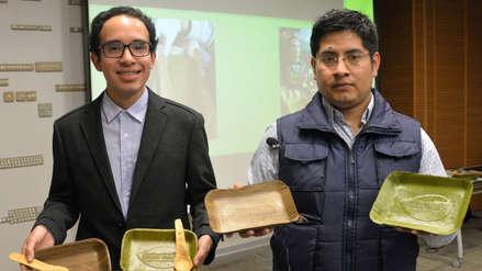 ¡Adiós al plástico! Crean platos biodegradables a base de hojas de plátano