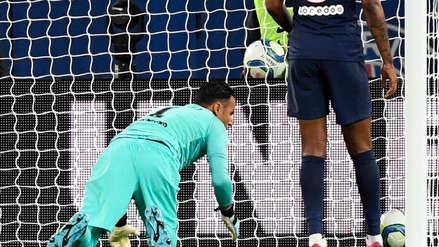 ¡Inatajable cabezazo! El golazo de Reims ante PSG de Keylor Navas