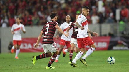 Con Paolo Guerrero expulsado, Internacional perdió 3-1 ante Flamengo por el Brasileirao