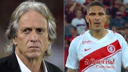 Paolo Guerrero recibió duras críticas del técnico de Flamengo tras su expulsión