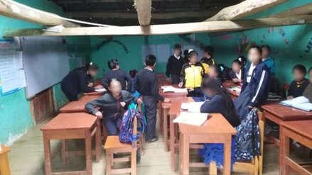 Minedu destina 6 módulos educativos a escolares de Piura que se quedarán sin colegio tras desalojo