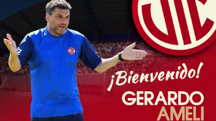 ¡Nuevo técnico! UTC confirmó la llegada de Gerardo Ameli como su nuevo entrenador