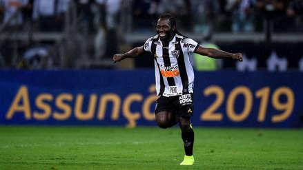 ¡Abultó el marcador! Yimmi Chará anotó el segundo gol en el Atlético Mineiro vs. Colón de Santa Fe