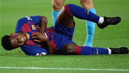 Ansu Fati no jugará contra Getafe tras terminar el último entrenamiento con molestias